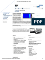 Internal Rotary Inspection System (IRIS) Tubular Testing