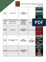 calendario metalcanario AGOSTO - 2009