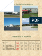 South Metro Airport Comparison - Property Tax Analysis Presentation