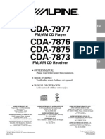 Manual Radio ALPIN CDA-7977