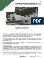 El 1er Ingeniero Aeronáutico Venezolano
