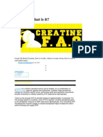 Creatine - What is It