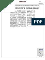Rassegna Stampa 10.10.2013