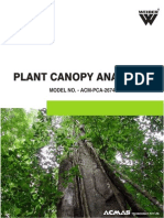 Plant Canopy Analyzer