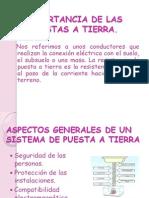 DISEÑOS DE PUESTAS A TIERRA