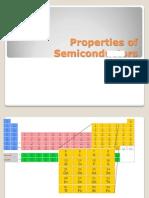Properties of Semiconductors