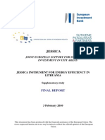Annex to Supplementary Study on Jessica Instrument for Energy Efficiency in Lithuania