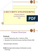 Security Engg Introduction