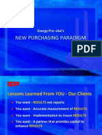 Energy Pro USA - New Purchasing Paradigm