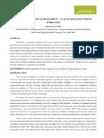 2. Humanities- Evaluation - Bidyarani Asem