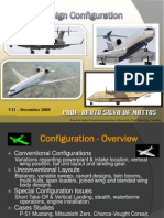 Aircraft Design Configuration
