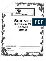 Science Form 2 Revision
