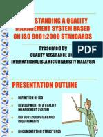 Understanding of ISO9000 Standards[1]