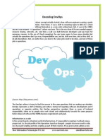 Decoding DevOps