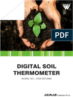 Digital Soil Thermometer