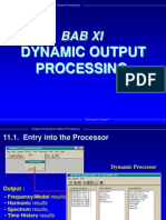 Bab 11 Dynamics Output Processing