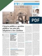 Reportaje Ciencias Políticas