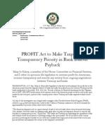 Profit Act
