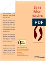 Sigma Rubber Ind. Brochure