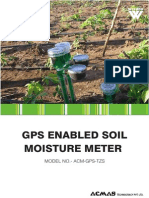 GPS Enabled Soil Moisture Meter