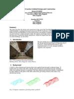 The Savill Garden Gridshell Design and Construction