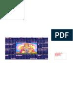 Excel 2009 Calendar Square V1.0