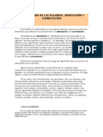 Denotación y connotación (2)