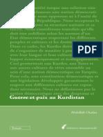 Ocalan Guerre Et Paix Au Kurdistan