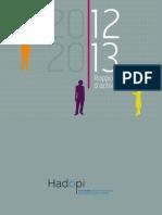 HADOPI_RapportAnnuel_2013