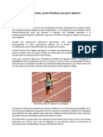Le sport féminin, porte flambeau du sport algérien