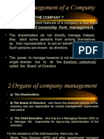 chp 10 management of company