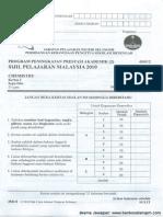 Spm Trial 2010 Chemistry p2 Selangor