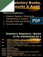 chp 13 - statutory register
