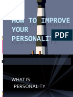 How to Improve Your Personality