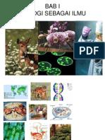 Bab 1 Hakekat Biologi