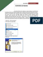 Konversi Database Access Ke SQL