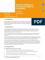Personal Selling and Promotional Skills for Hospitality 2