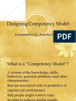 Designing Competency Model