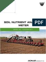 Soil Nutrient Analysis Meter