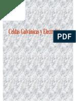 Electroquimica Pilas y Celdas