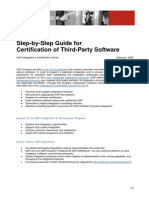 ICC Step-By-Step Guide for Certification of Third-Party Integration .