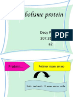 Metabolisme proteincy