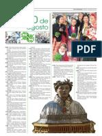 Programa San Lorenzo 2013