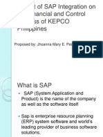 Impact of SAP Integration on the Financial And