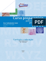 EDU T1 - Curriculo e Educacao - Conceito e Qestoes No Cntexto Escolar_NOVO (1)