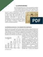 teoria antropometria