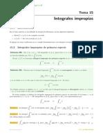 integrales impropoias