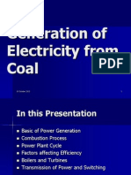 Coal to Electricity