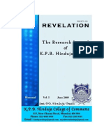 Research Papers...Revelation Vol 1 (Printed Journal) First Issue