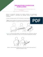AVC-MÉTODO BRUNNSTROM E EXERCÍCIOS DOMICILIARES